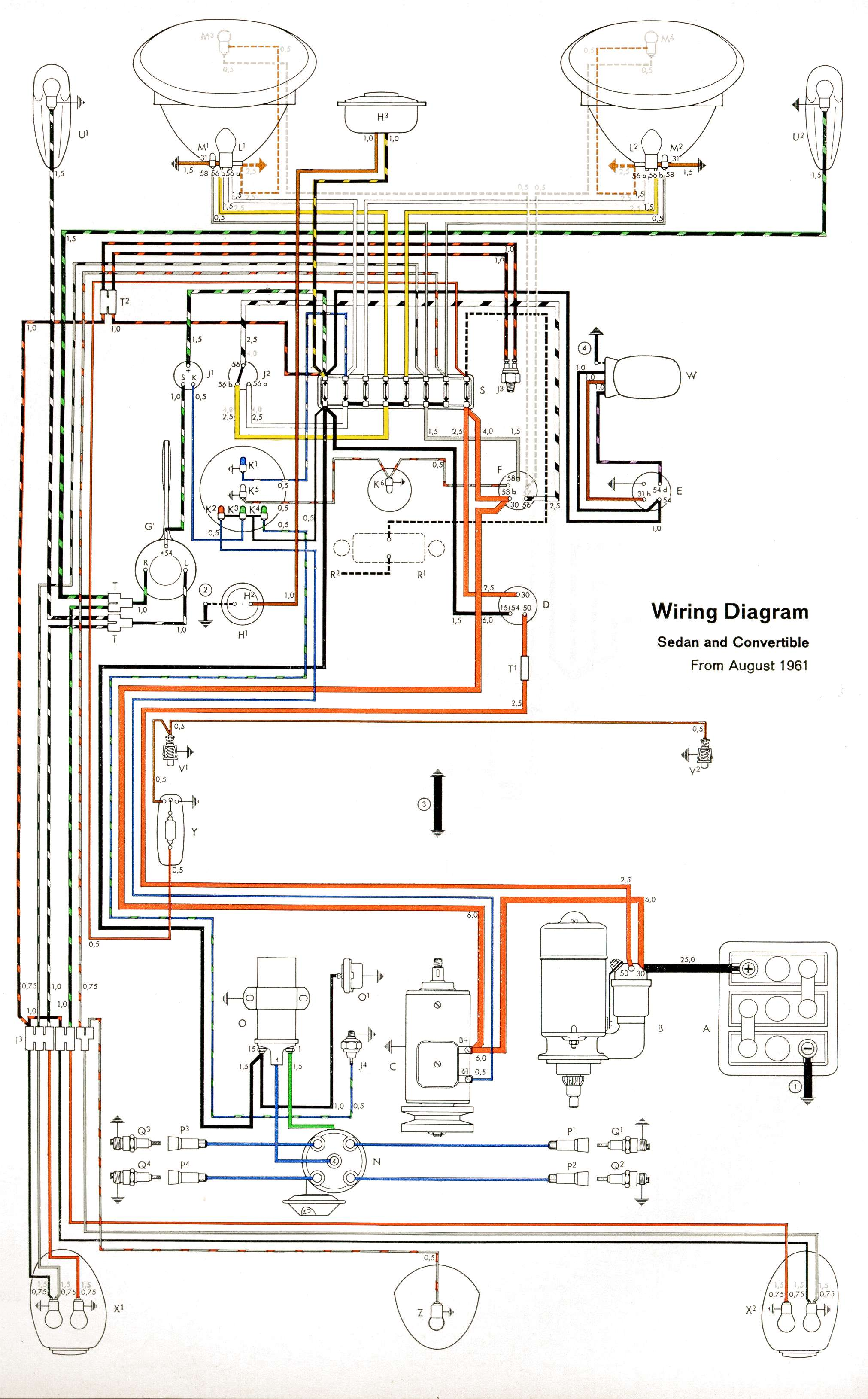 Wiring together with 1974 Vw Beetle Alternator Wiring Diagram furthermore Viewtopic moreover VW Tech Article Headlight Switches likewise 69 VW Bug Wiring Diagram. on 1971 vw super beetle ignition wiring diagram
