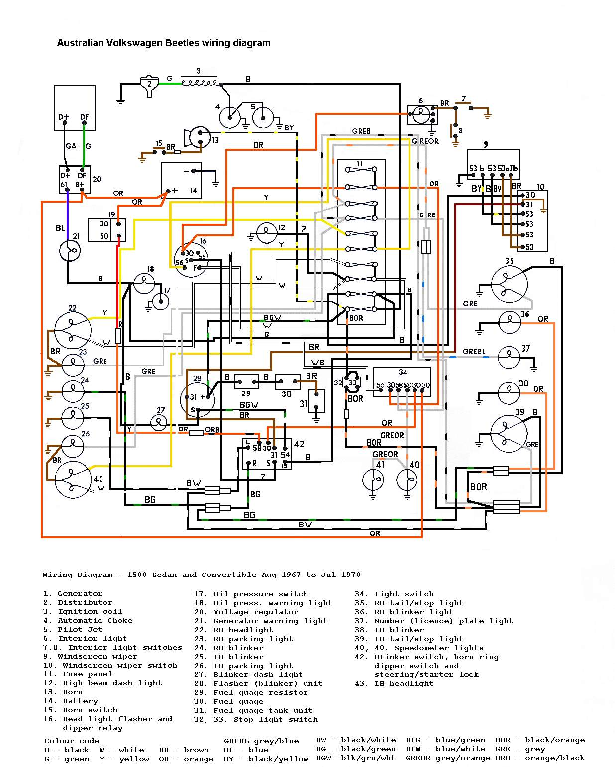 67 vw bus wiring diagram wiring schematics and diagrams light wiring diagram on 1954 chevy truck turn signal furthermore