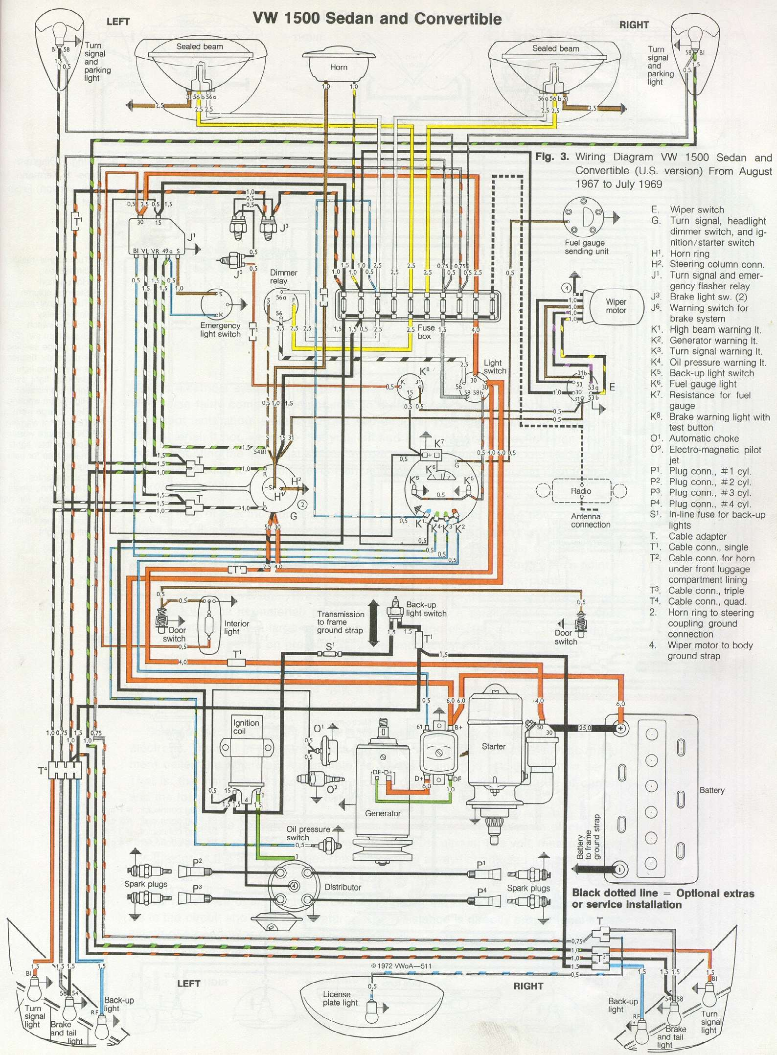 Vw on 1959 Impala Wiring Diagram