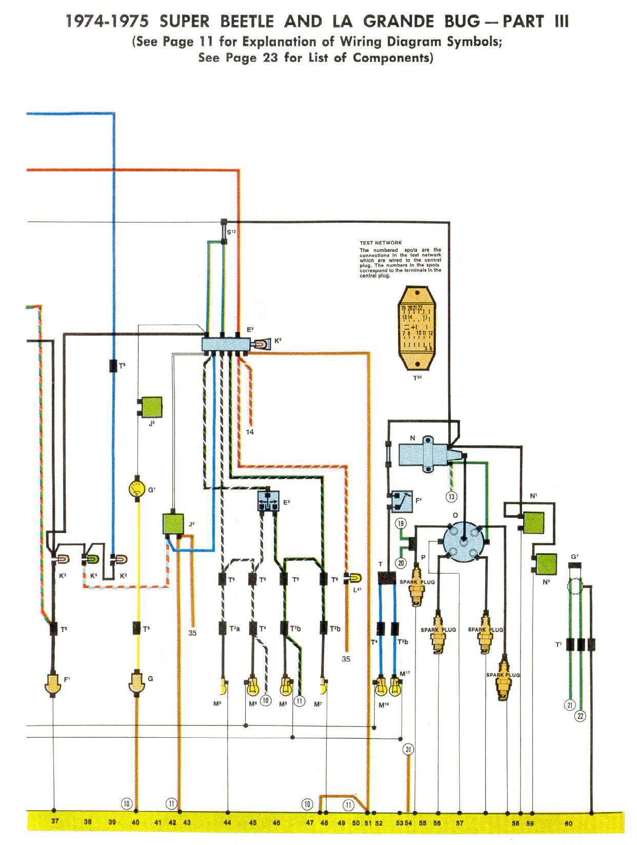 1975 Volkswagen Wiring Diagram Detailed Schematics Fiat Color Vwtyp1 Com Fuel