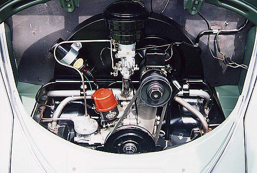 vw bubbla motor